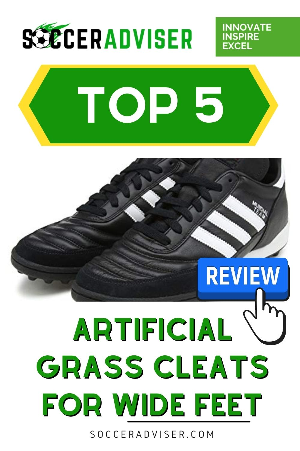 5 Best Turf Soccer Shoes For Wide Feet